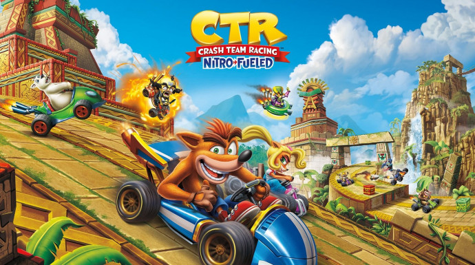 Crash™ Team Racing Nitro-Fueled для PS4 и X1