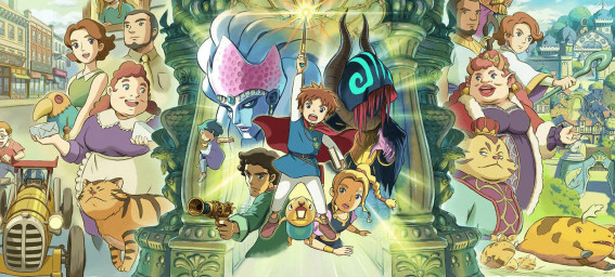 Ni no Kuni: Wrath of the White Witch™ Remastered добавлен для PS4